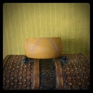 Wooden carved bangle